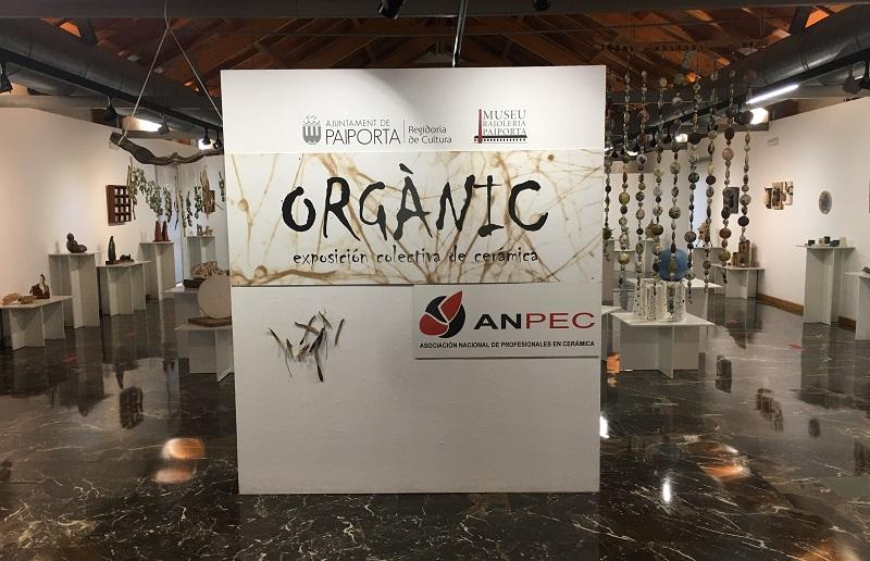 "EL UNIVERSO ""ORGÁNIC"" DE ANPEC EN EL MUSEU DE LA RAJOLERIA DE PAIPORTA"